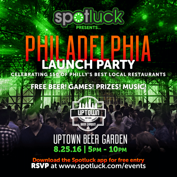 Spotluck Philly Launch Party