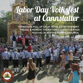 Cannstatter's 144th Labor Day Weekend Volksfest September 3–5