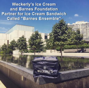 Weckerly's Ice Cream and The Barnes Foundation Announce Special Summer Ice CreamSandwich