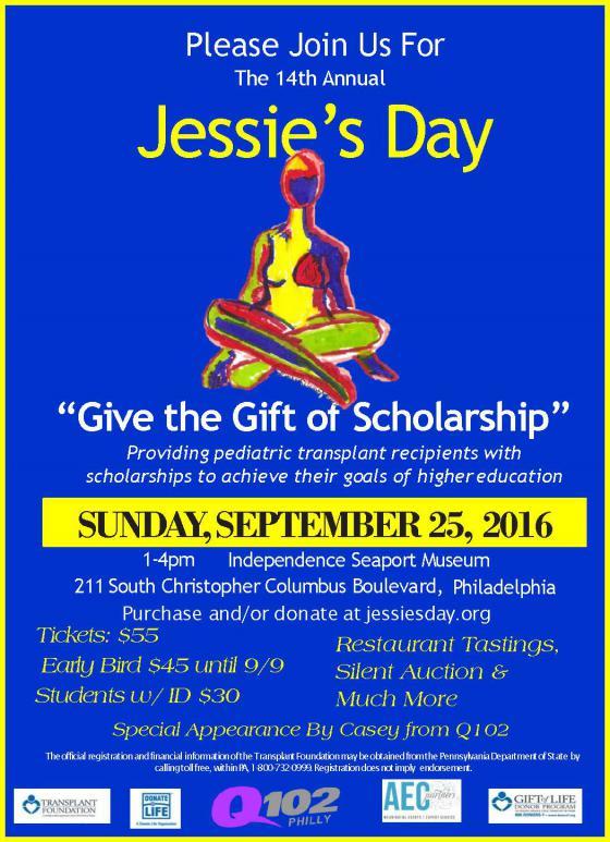 Jessie's Day Fundraiser