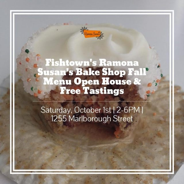 Ramona Susan's Bake Shop Fall Menu Open House & Tasting