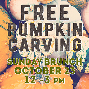 Pumpkin Brunch & Pumpkin Carving at Twisted Tail