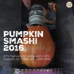 City Tap House University City Presents: Pumpkin Smash! 2016