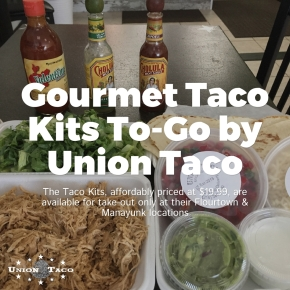Gourmet Taco Kits To-Go from Union Taco