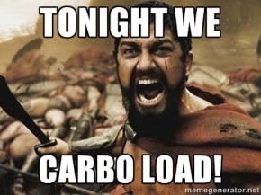 Carb Load for PhiladelphiaMarathon