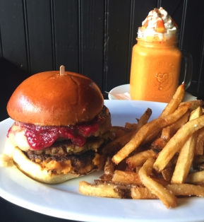 GRUB ON THIS: The Gobbler Burger at Craftsman RowSaloon