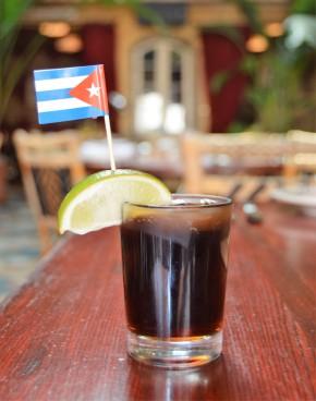 Complimentary Cuba Libre Cocktail at Old City's CubaLibre