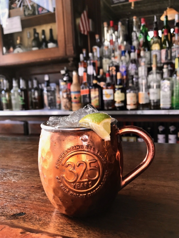 Grapefruit Mule at London Grill