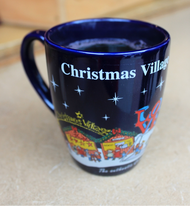 Hot Mulled Wine at Christmas Village