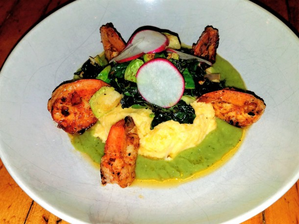 Shrimp & Grits at Miles Table