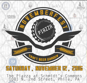 Novemberfest at Schmidt's Commons