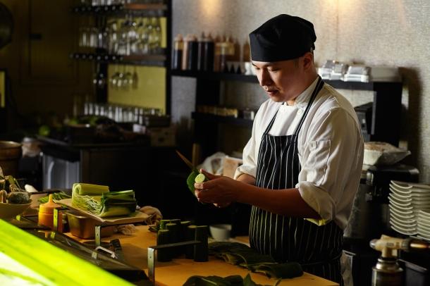 Chef Alex McCoy of Umai Umai Sushi in Philadelphia