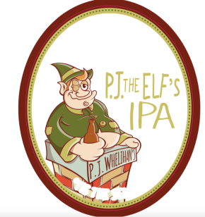 'P.J. the Elf' Beer Collab Between P.J.W. Restaurant Group & Yards BrewingCompany