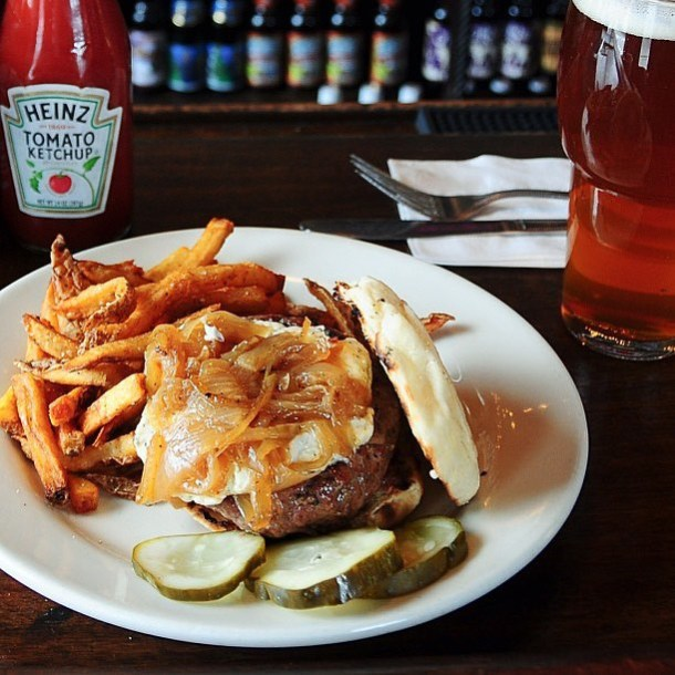 Half Price Burger Monday's at London Grill in January