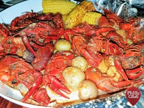 Grubspotting: Live Crawfish Boil at Catahoula!