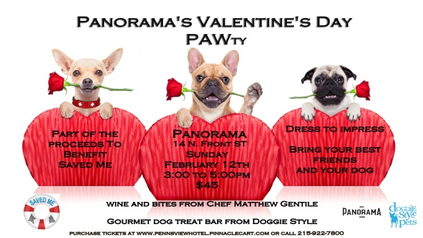 Panorama Valentine's Day PAWty