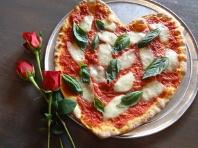 Send a heart-shaped pizza-gram from SliCE to your love this Valentine's Day