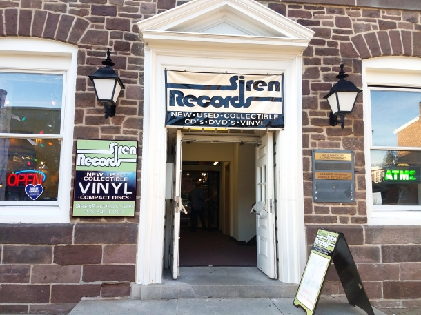 Siren Records Doylestown PA