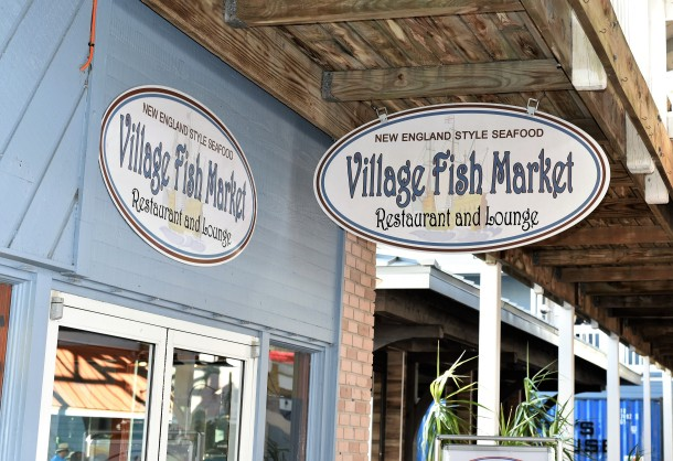 Village Fish Market at Fishermen's Village in Punta Gorda FL