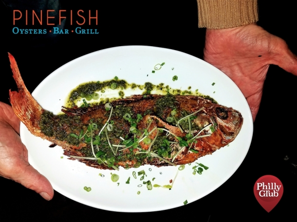 Whole Fish at Pinefish