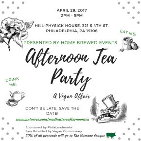 Afternoon Tea Party: A Vegan Affair by Home Brewed Events