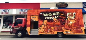 Celebrate Record Store Day at The Pour House with Dogfish Head on the Crosley Cruiser