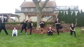 Earth Day Morning Yoga and Free Falafel at Mainland Inn in Harleysville, PA