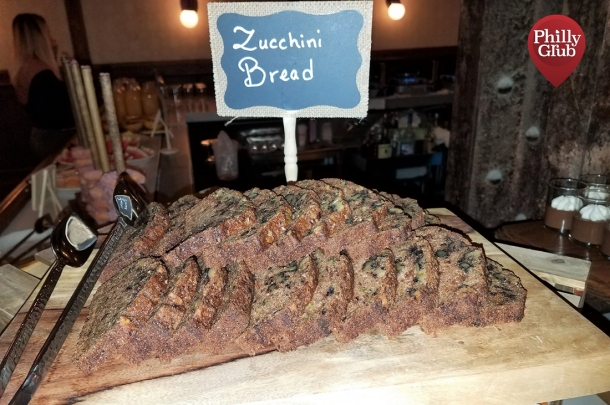 Harp & Crown Brunch Zucchini Bread