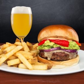 Iron Hill Brewery's Annual Burger-A-Day Menu for National Burger Month