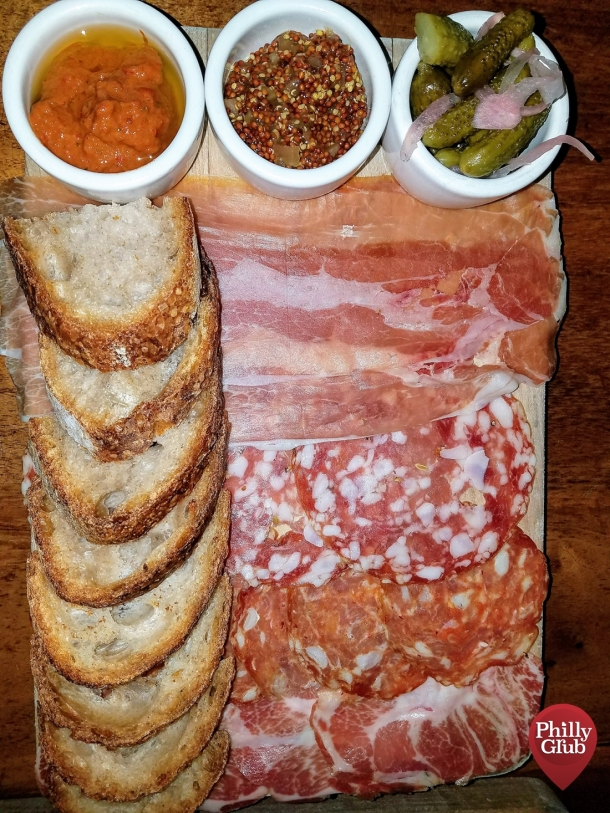 Italian Meats Plate at Tria Cafe Rittenhouse