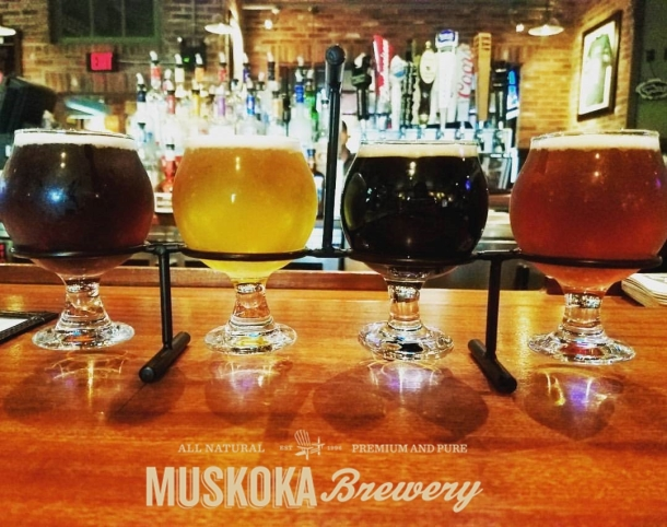 Muskoka Brewery Beers at UNO Maple Shade
