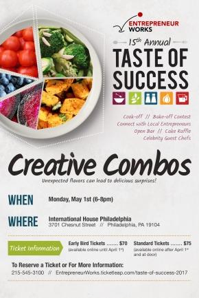 Entrepreneur Works 15th Annual Taste of Success Cook Off/BakeOff