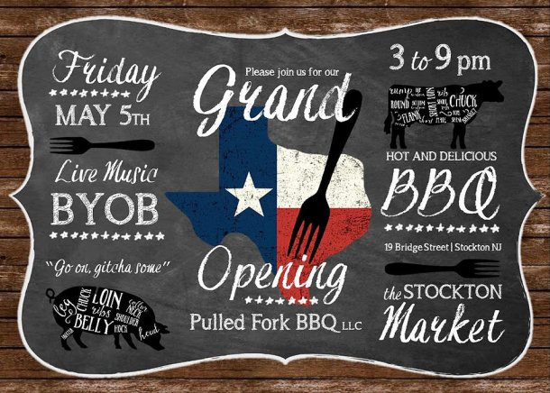 Pulled Fork BBQ Grand Opening