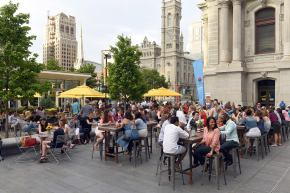 BBQ Sauce Competition at Dilworth Park's All AmericanBBQ