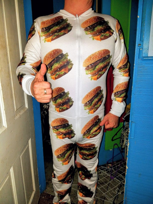 McDelivery Big Mac Onesie