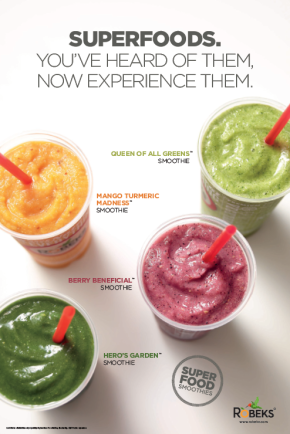 Robeks Introduces New SuperfoodSmoothies