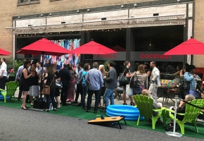 Square 1682 Launches Sidewalk Summertime Chill Zone Complete with Yacht Rock & Singing Bartender