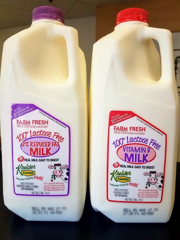 Kreider Farms Lactose Free Milks