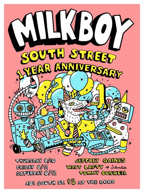 MilkBoy South Street 1 Year Anniversary