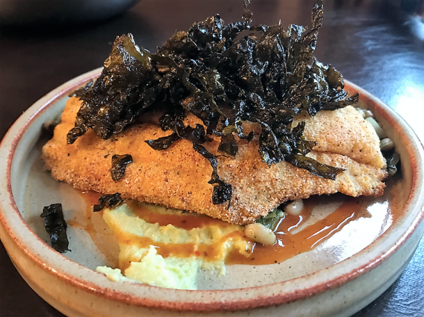 Pan Fried Cornmeal Catfish at Rex 1516