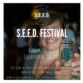 Vegan Food & Beer Festival Returns to SugarHouseCasino