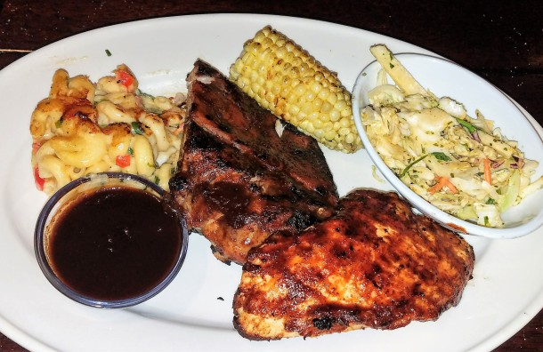 Bahama Breeze Rum & Coke Chicken & Ribs