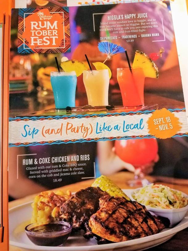 Rumtoberfest Bahama Breeze