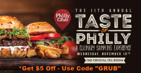 Tickets on Sale for 11th Annual Taste of Philly