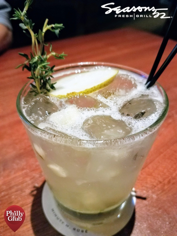 The Pearfect Storm at Seasons 52 Cherry Hill Mall