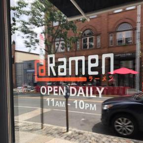 Ramen in Manayunk at @Ramen