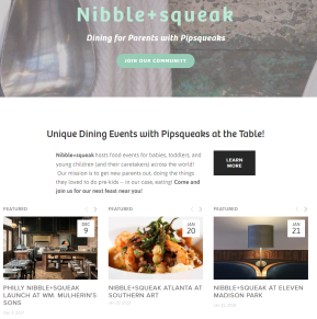 Nibble+squeak Launches in Philly