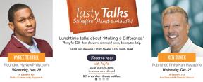 Tasty Talks at Yangming in BrynMawr