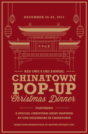 Red Owl Tavern's Chinatown Pop-Up on ChristmasDay
