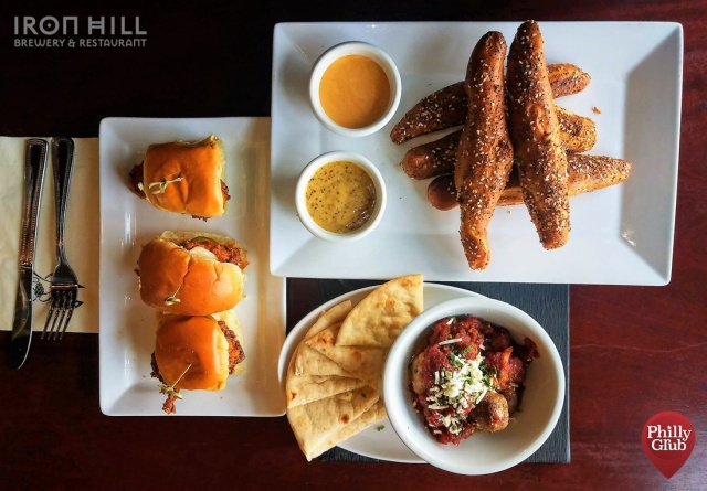 Iron Hill Brewery Maple Shade Appetizers